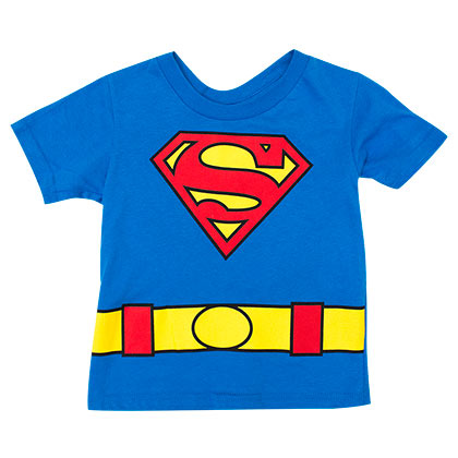 Superman Toddler's Cape Tee Shirt