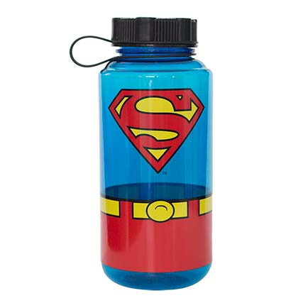 Superman Comic 1000ml Water Bottle
