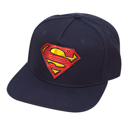 Superman Vinyl Logo Hat