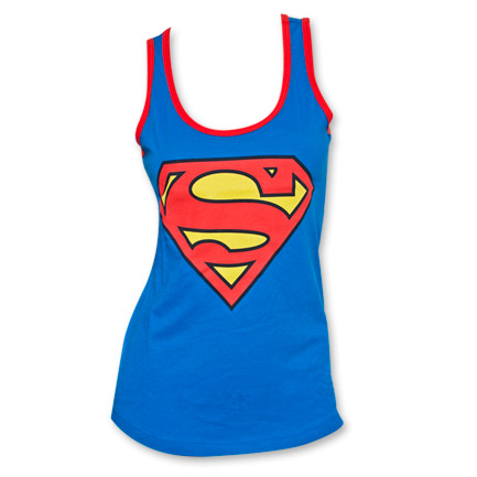Superman Women's Tank Top - Blue