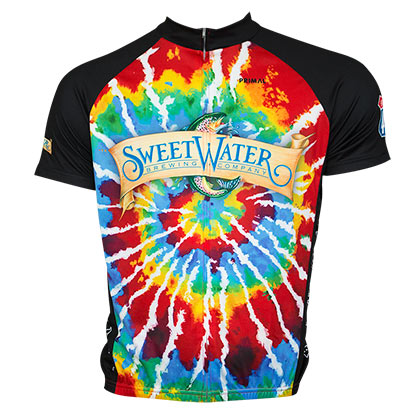 Sweetwater Brewing Tie Dye Cycling Jersey