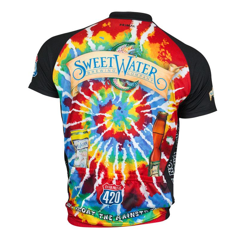 Sweetwater Brewing Tie Dye Cycling Jersey
