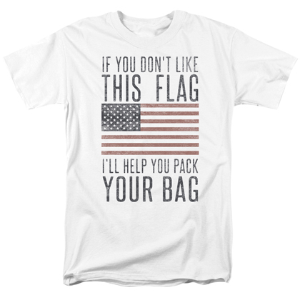 Patriotic Pack Your Bags Tshirt