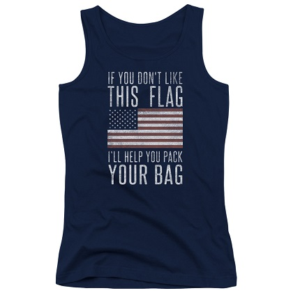 Pack Your Back Patriotic Women's Tank Top