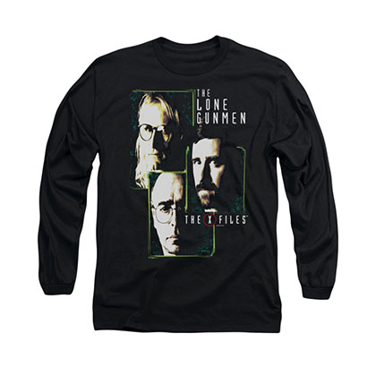 The X-Files Lone Gunmen Black Long Sleeve T-Shirt
