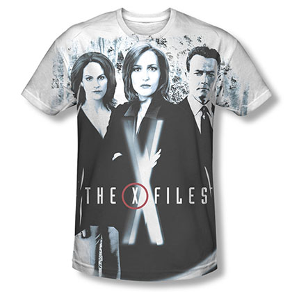 The X-Files Three Agents Sublimation T-Shirt