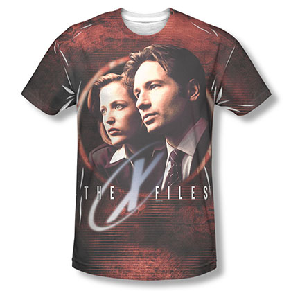 The X-Files Truth Seekers Sublimation T-Shirt