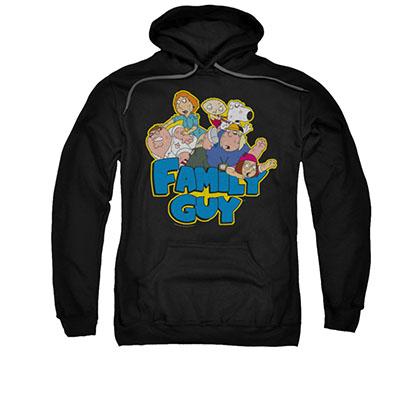 Family Guy Logo Black Pullover Hoodie