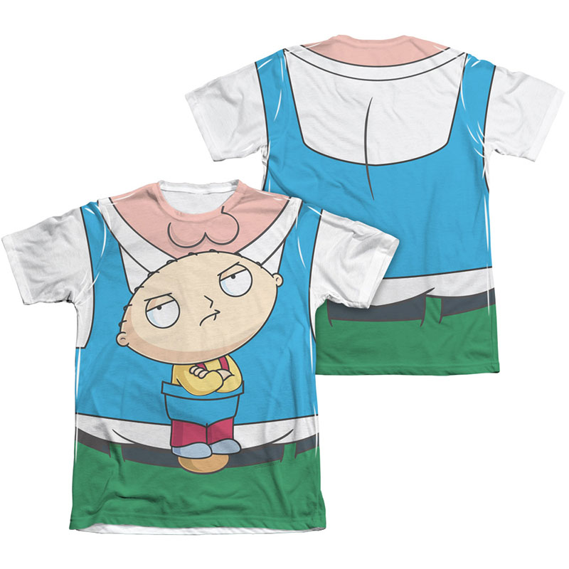 Family guy peter stewie carrier costume sublimation t shirt for Family guy t shirts amazon