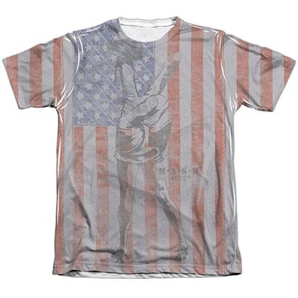 MASH Flagged Sublimation T-Shirt