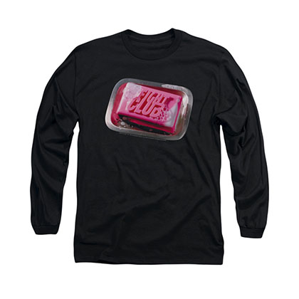 Fight Club Soap Black Long Sleeve T-Shirt