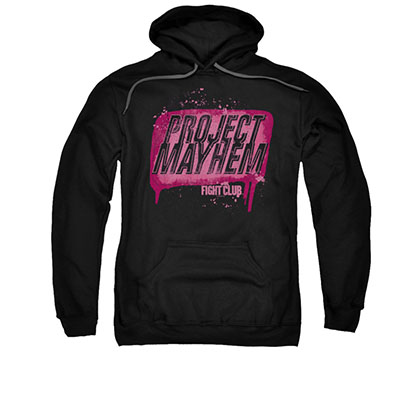 Fight Club Project Mayhem Black Pullover Hoodie