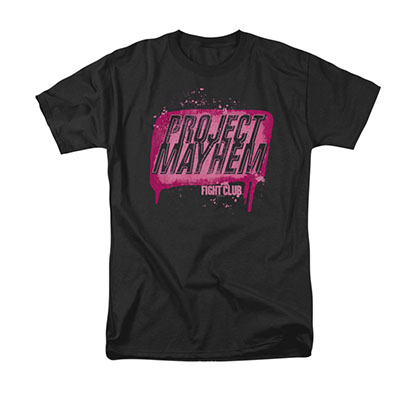 Fight Club Men's Black Project Mayhem T-Shirt