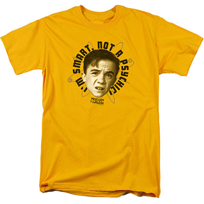 Malcolm In The Middle Smarty Pants Yellow T-Shirt