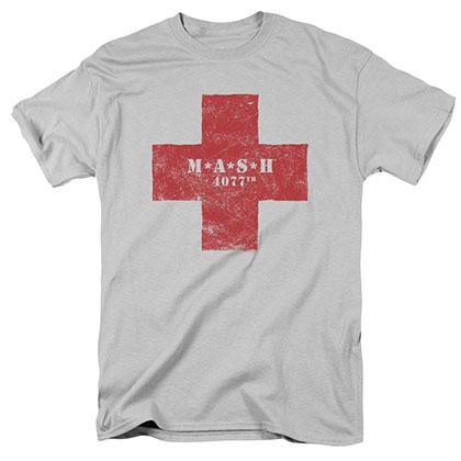 MASH Red Cross Gray T-Shirt