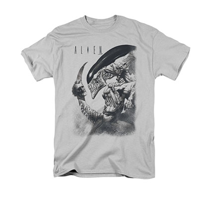 Alien Decapitated Gray T-Shirt