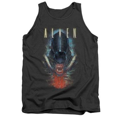 Alien Bloody Jaw Gray Tank Top