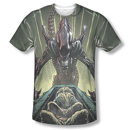Alien Egg Collection Sublimation T-Shirt