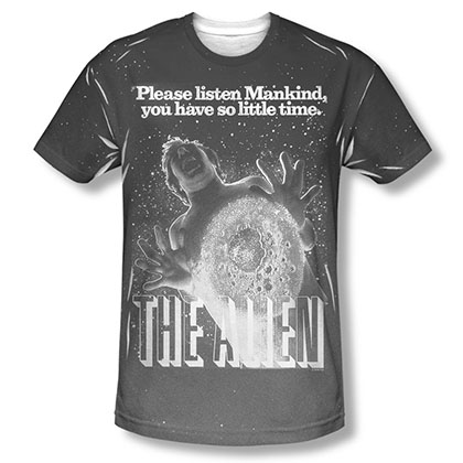 Alien Vintage Fear Sublimation T-Shirt