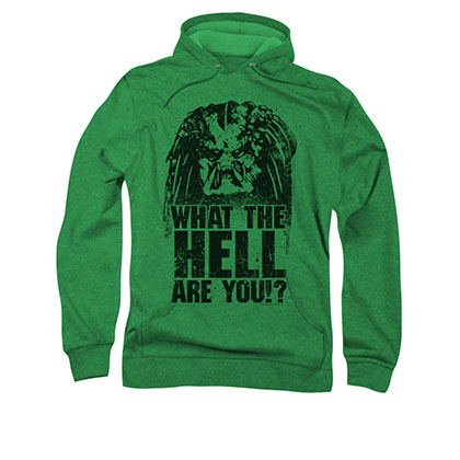 Predator What The Hell Are You Black Pullover Hoodie