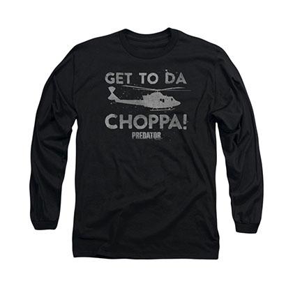 Predator Choppa Black Long Sleeve T-Shirt