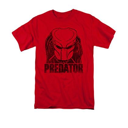 Predator Men's Red Logo Tee Shirt