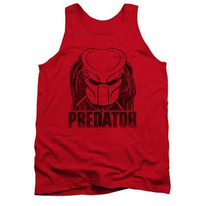 Predator Logo Red Tank Top