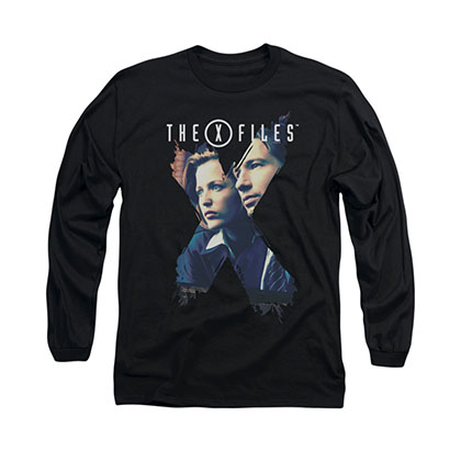 The X-Files Agents Black Long Sleeve T-Shirt