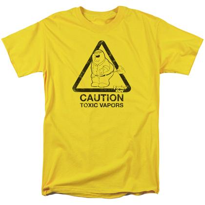 Family Guy Toxic Vapors Tshirt