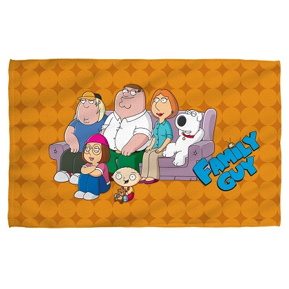 Family Guy Beach Towel