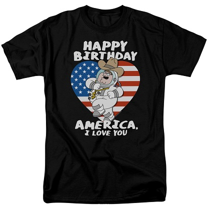 Family Guy Happy Birthday America Tshirt