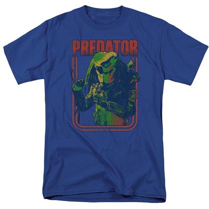 Predator Retro Blue Tshirt