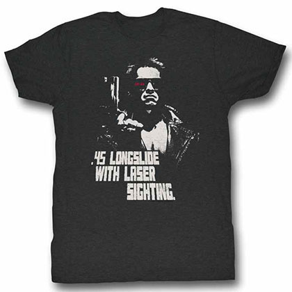 Terminator I'Ll Be Back Off White Tee Shirt
