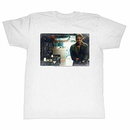 Terminator Kyle White Tee Shirt