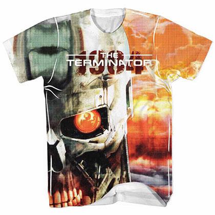 Terminator Terminator's Watching White Tee Shirt