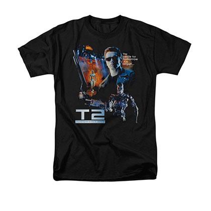 The Terminator 2 Battle Black T-Shirt