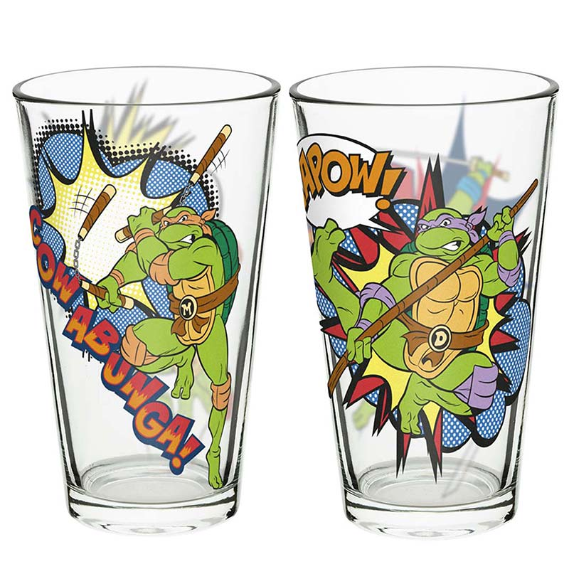 Teenage Mutant Ninja Turtles TMNT Pint Glass Set