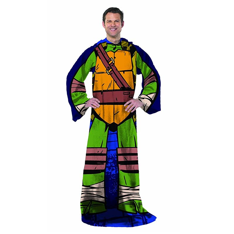 Teenage Mutant Ninja Turtle Being Leonardo Adult Snuggie
