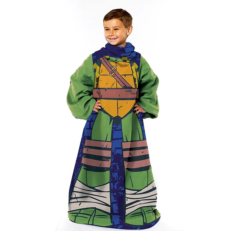 Teenage Mutant Ninja Turtle Being Leonardo Youth Snuggie