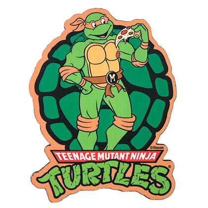 Teenage Mutant Ninja Turtles Green Michelangelo Block Magnet