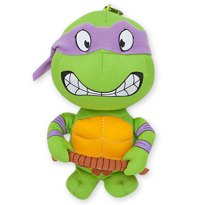 Teenage Mutant Ninja Turtles Donny Plush Keychain