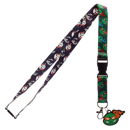 Teenage Mutant Ninja Turtles Character Lanyard
