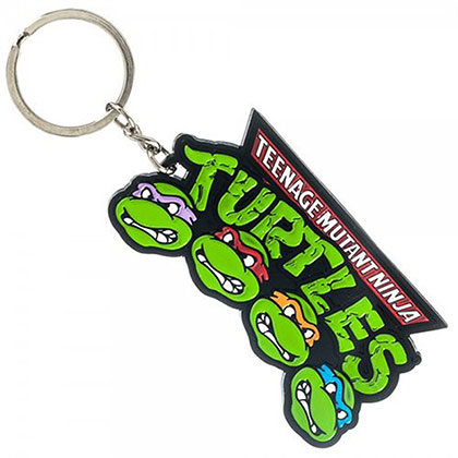 Teenage Mutant Ninja Turtles Green Logo Keychain