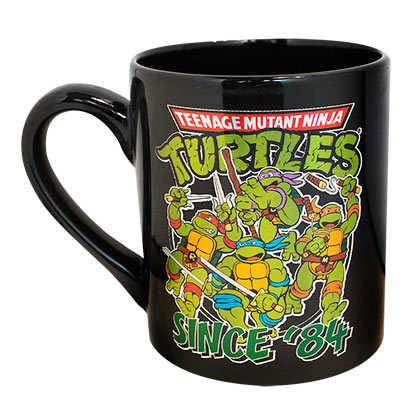 Teenage Mutant Ninja Turtles Foil Since '84 Coffee Mug