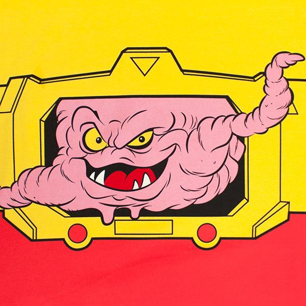 Teenage Mutant Ninja Turtles Yellow and Red Krang Shirt