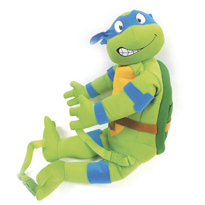 Teenage Mutant Ninja Turtles Green Leo Backpack Buddy