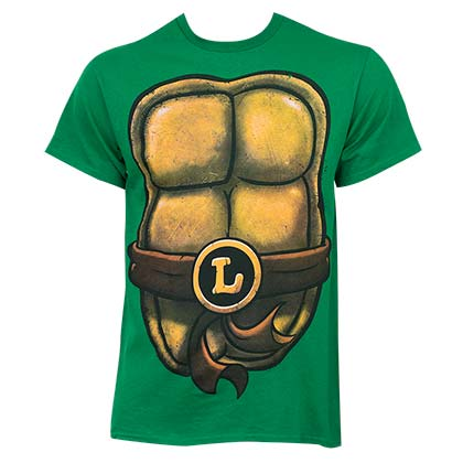 TMNT Green Men's Leonardo Costume T-Shirt