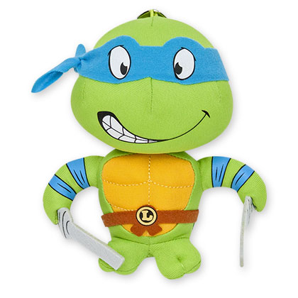 Teenage Mutant Ninja Turtles Plush Leonardo Keychain
