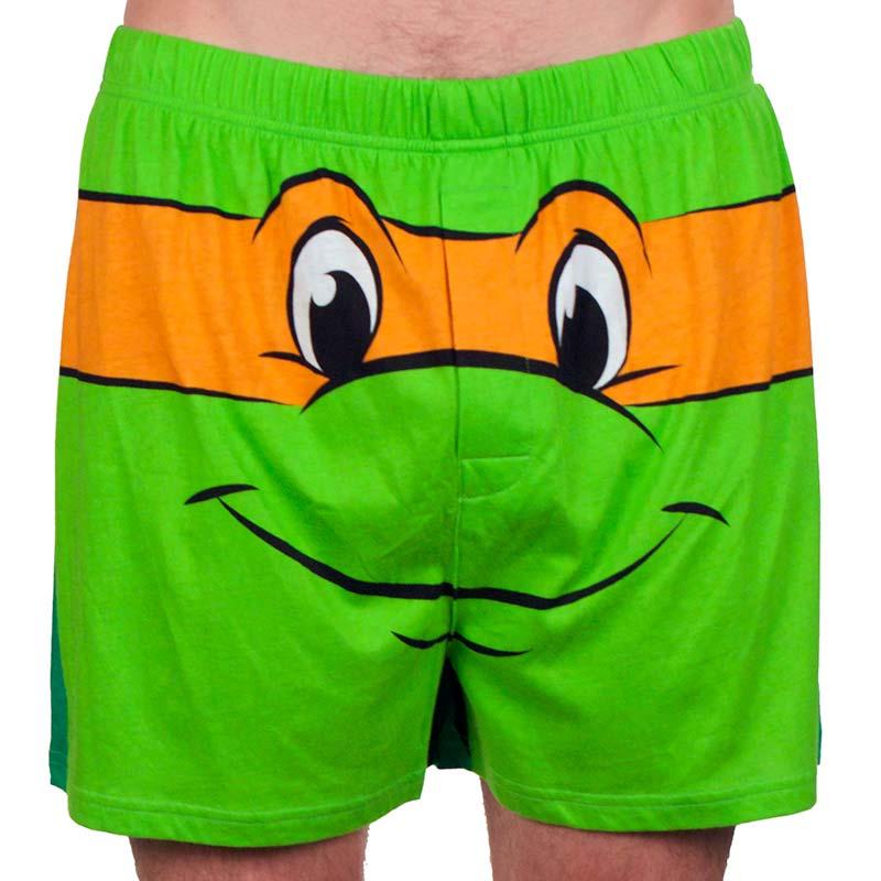 Teenage Mutant Ninja Turtles Michelangelo Men's Boxers Underwear