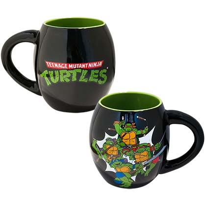 Teenage Mutant Ninja Turtles 18oz Oval Coffee Mug